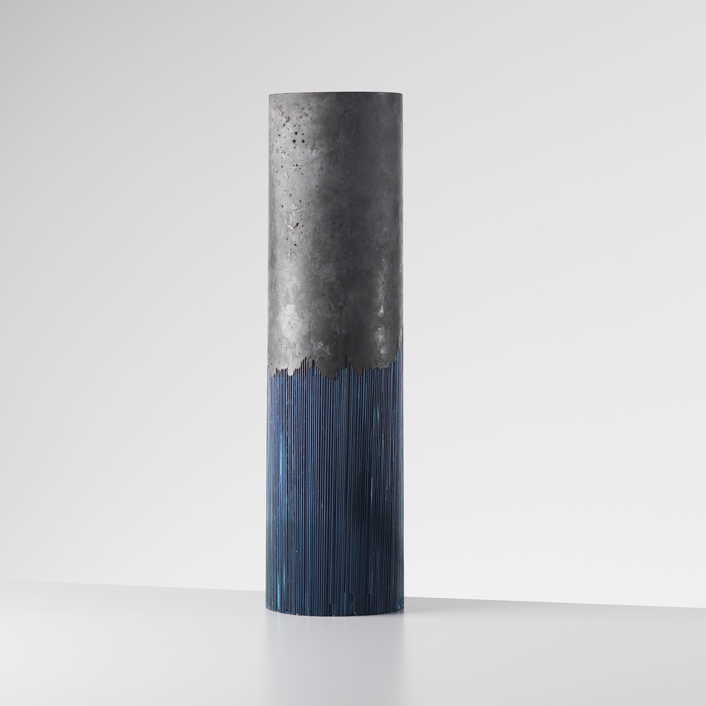 Harry Morgan Blue cylinder