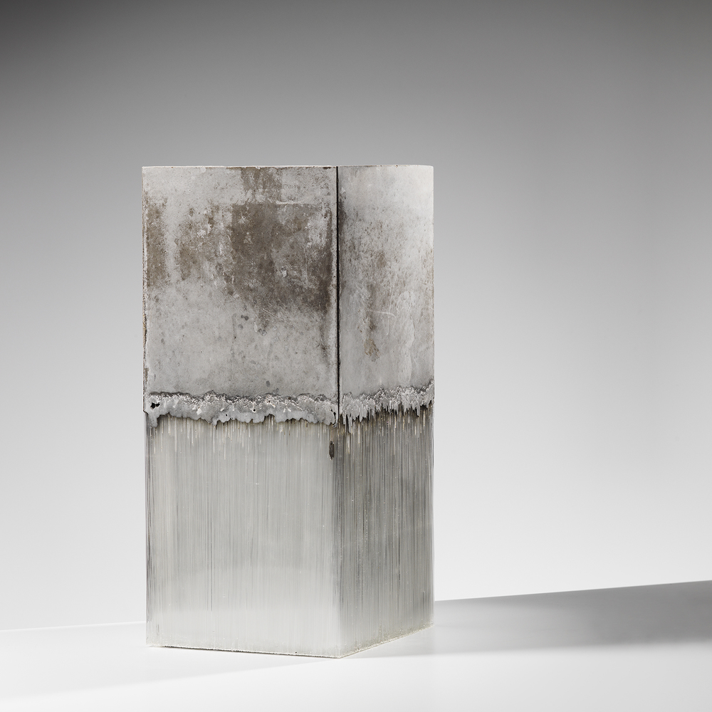 Harry Morgan white cube